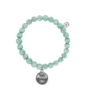 Bracelets do you hear me? Virgin with amazonite balls