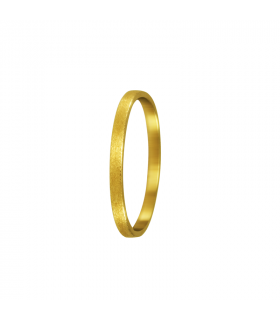 Yellow gold wedding gift.