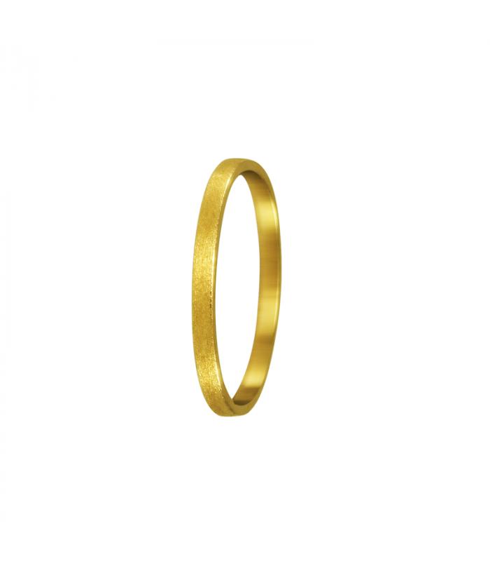 Yellow gold wedding gift.
