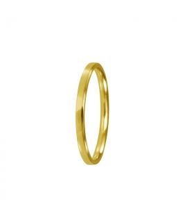 Wedding ring flat 2mm
