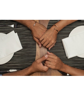 Nail bracelet for couples