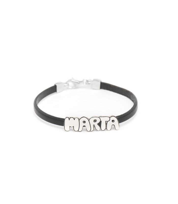 Marta name bracelet