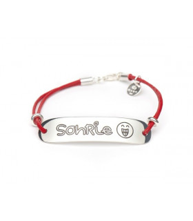 Personalized bracelet smiles
