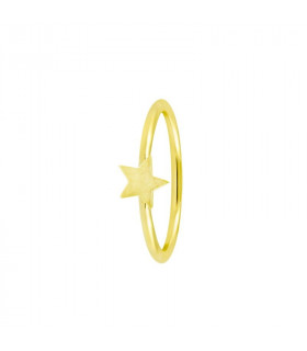 Anillo Gold estrella