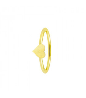 Anillo Gold corazon