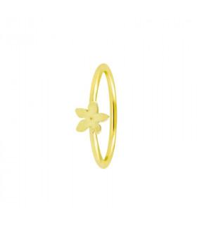 Gold jasmine ring