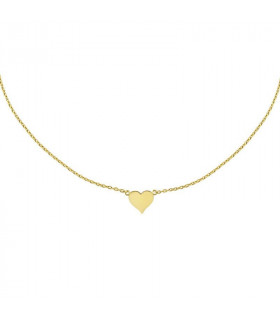 Gold Heart Choker