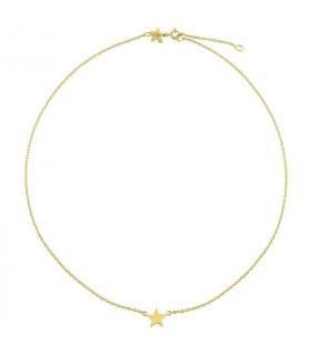 Gargantilla Gold estrella