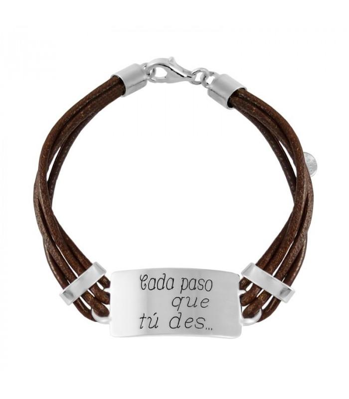 "Personalized bracelet ""every step you take .."""