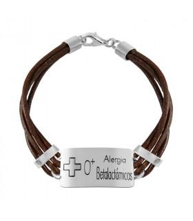 Personalized allergy bracelet