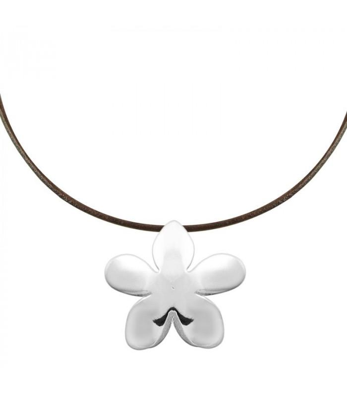 Jasmine necklace in silver