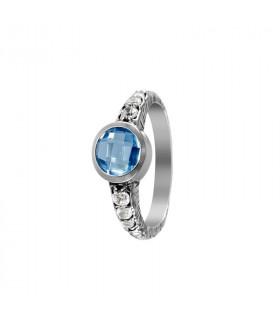 Urulu ring circular stone 7x7