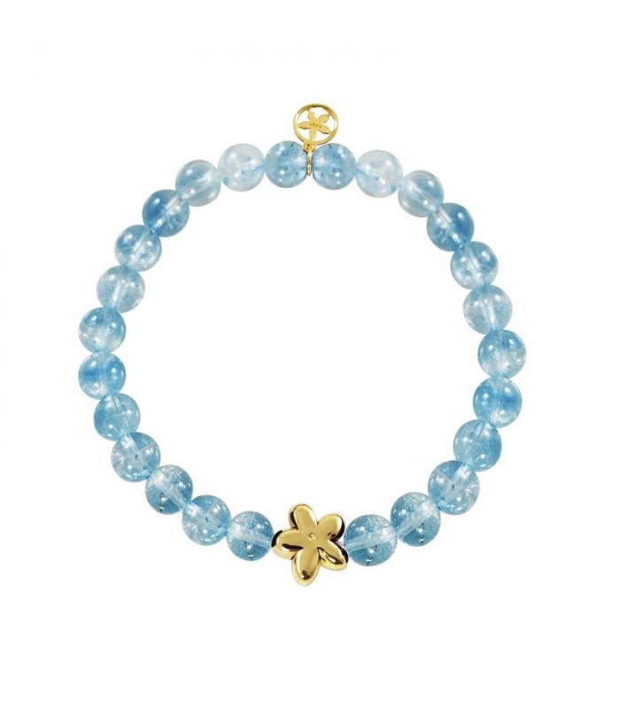 Jasmine bracelet natural stone balls