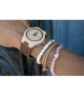 Balls and silver bracelet