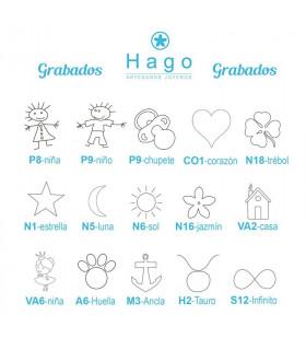 Dibujos para medallas personalizadas