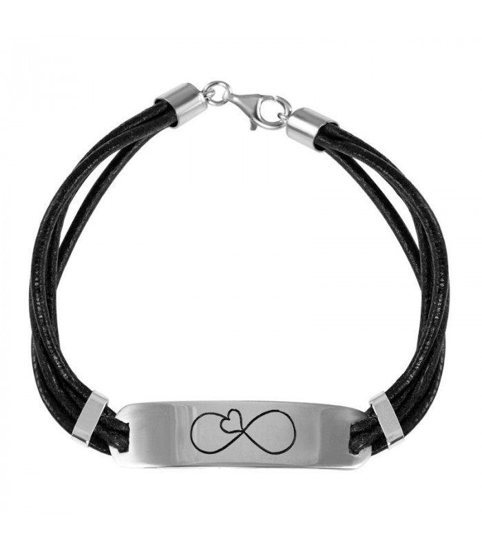 Heart and infinity braceletHeart and infinity bracelet