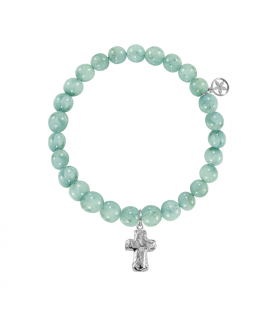 Bracelet cross asymmetrical...