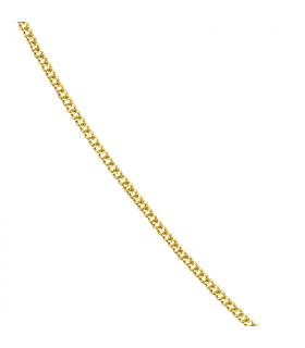 Golden curb chain