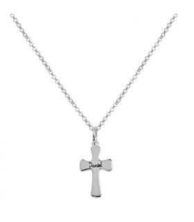 Gargantilla cruz personalizada