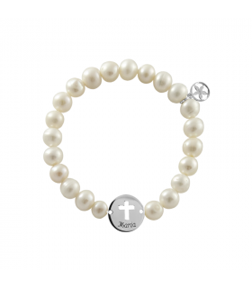 Ball bracelet with...