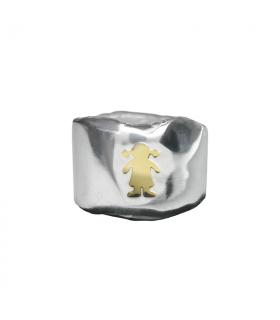 Gold Girl Custom Ring