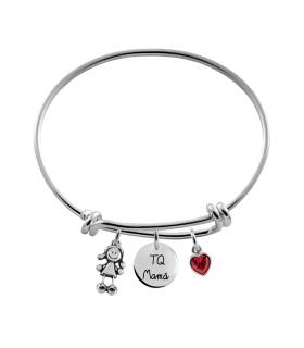 Knot bracelet TQ mamá with...