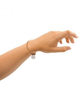Pulsera de cuero personalizada mano