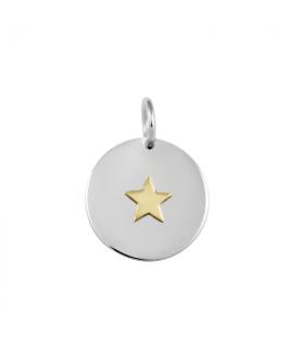 Colgante Estrella oro