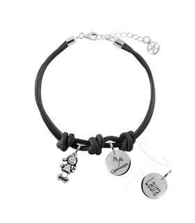 Communion bracelet with  charm