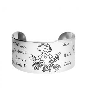 Custom Horizon Bracelet silver