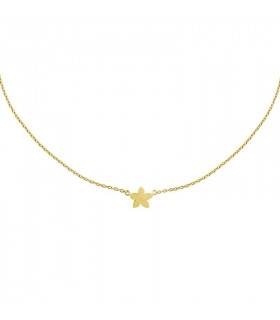 Gold jasmine necklace