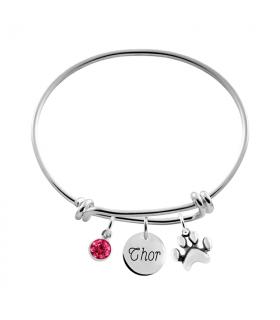 Silver bracelet Pets