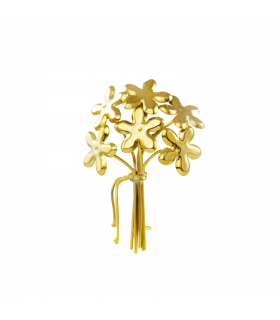 Gold jasmine Brooch