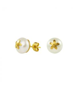 Pendientes perla y jazmín