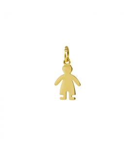 Colgante oro niño