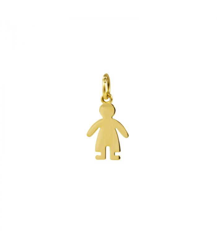 Colgante niño de oro