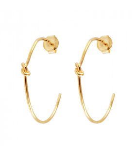 Vesta hoop earrings