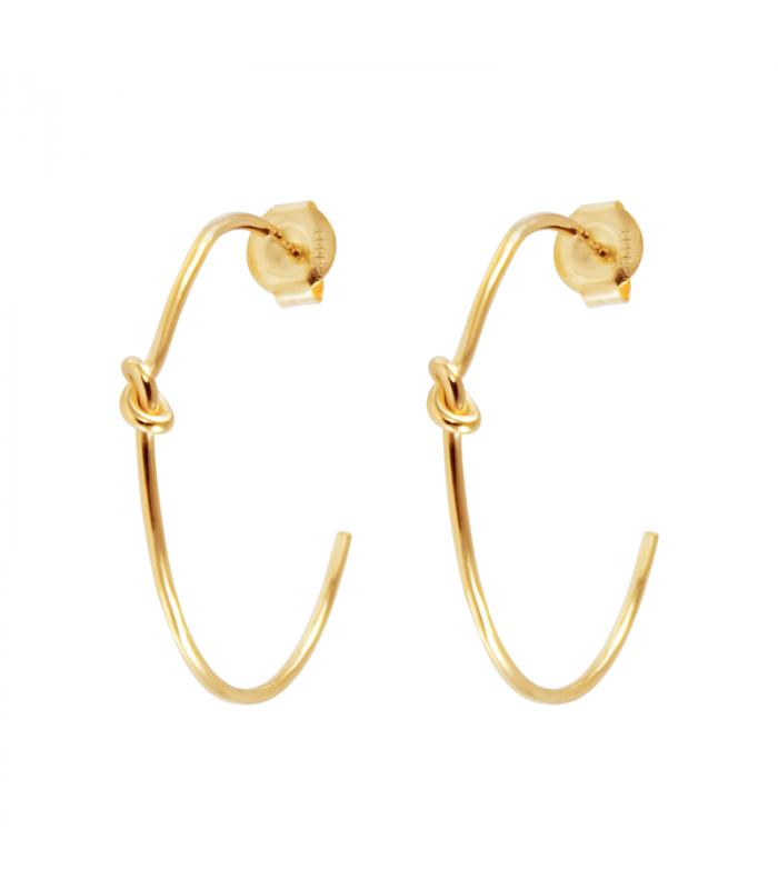 Vesta hoop earrings