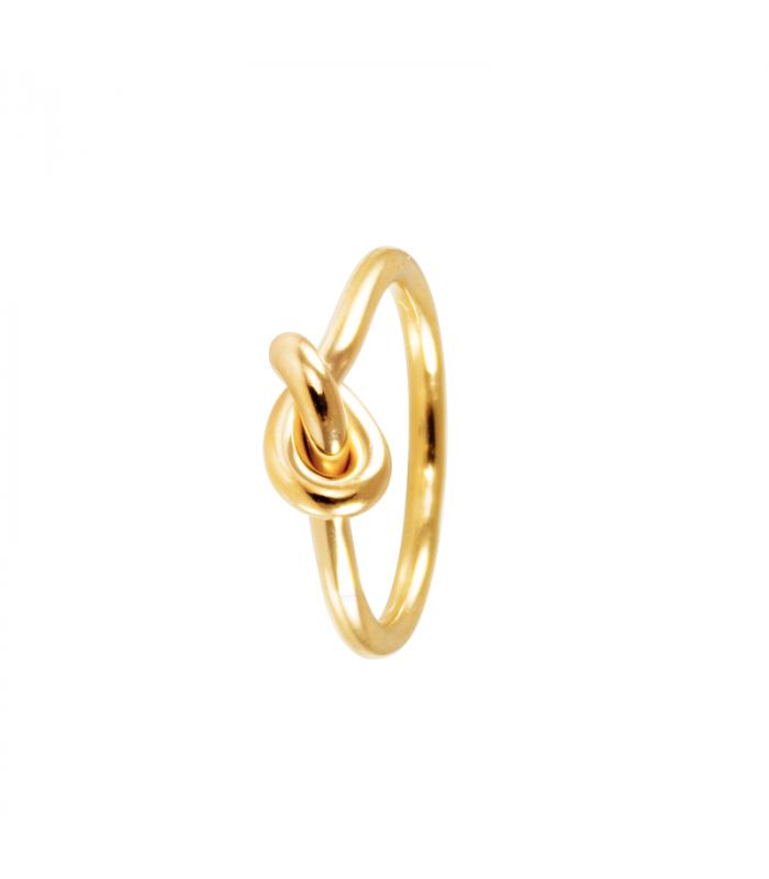 Anillo nudo Vesta dorado