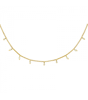 Necklace Brigitte pearl