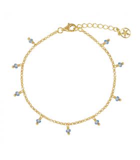Brigitte gold water bracelet