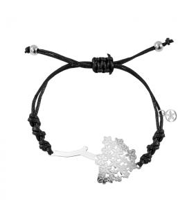 Biznaga bracelet macrame