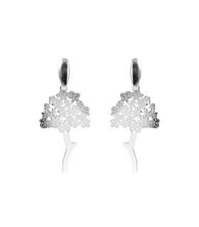 Flat Biznaga Earrings