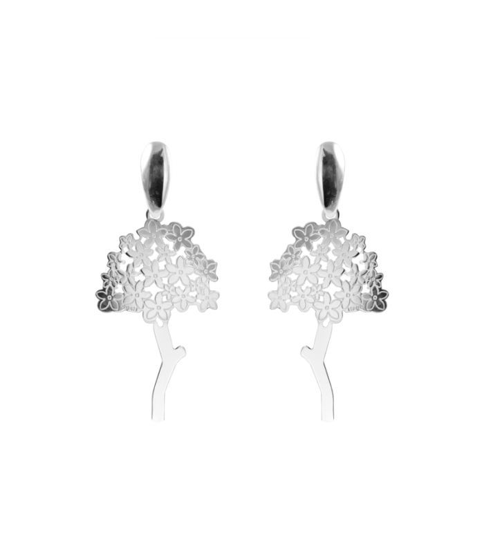 Biznagas malagueña earrings