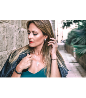 Biznaga earrings typical gift from Málaga
