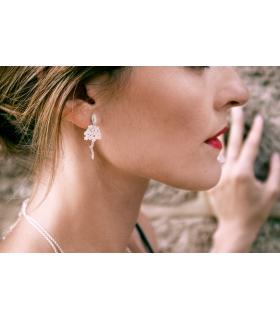 Biznaga jasmine earrings
