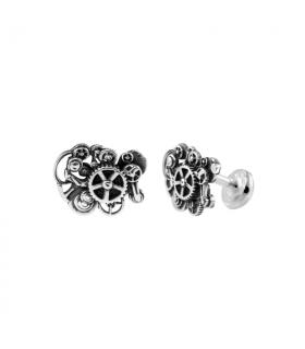 Silver cufflinks Steam