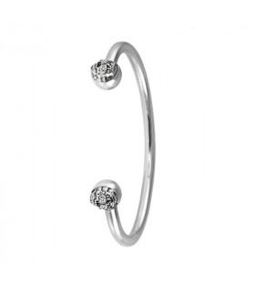 Silver bracelet Frida