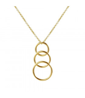 Essential three hoop pendants