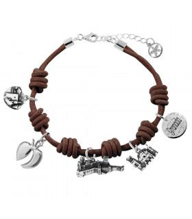 Granada leather bracelet